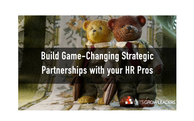Human Resources Build Strategic Partnerships