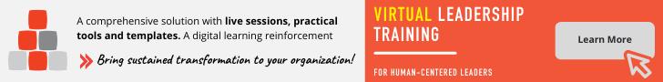 Virtual leadership training ad