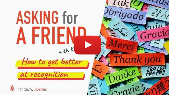 How to be great at recognition and gratitude for coworkers