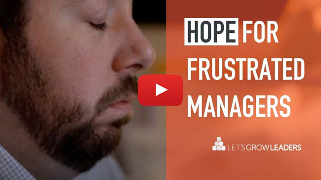 hope for frustrated managers