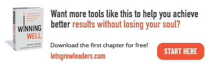 Winning Well leadership