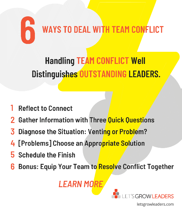 How to handle team conflict