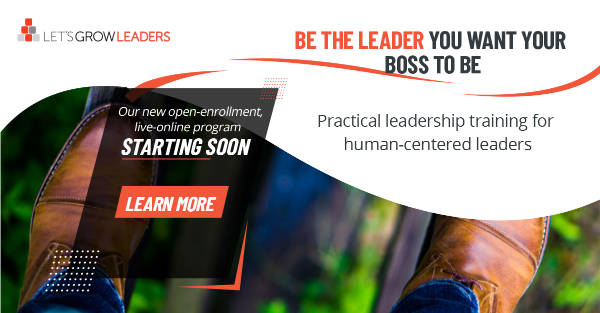 Sandwich feedback and other Leadership Development Programs Open Enrollment
