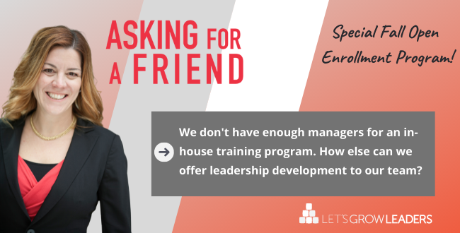 Live-Online Leadership Training: Where Can I Send My Managers?