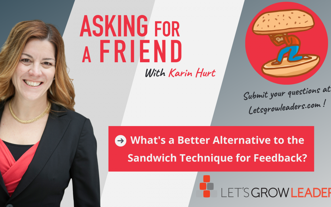The Problem With Sandwich Feedback Video (and what to do instead)