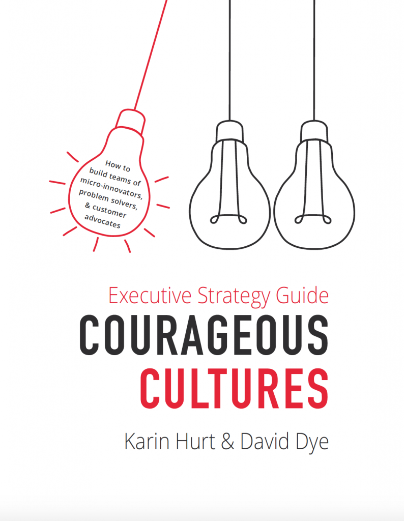 executive strategy guide for courageous cultures