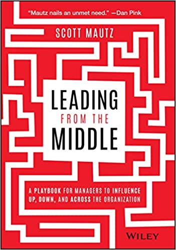 leading from the middle book cover