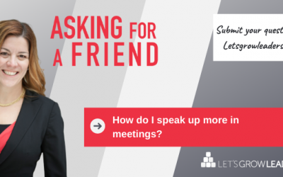 How To Speak Up in Meetings (A Video For if You're Feeling Unsure)