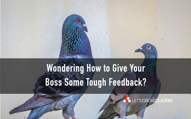 how to give boss difficult feedback