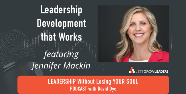 Leadership Development that Works with Jennifer Mackin
