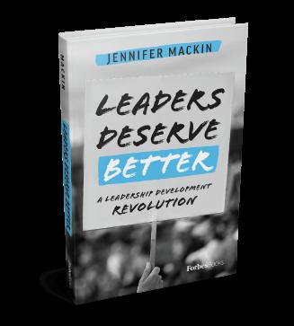leadership development leaders deserve better book cover