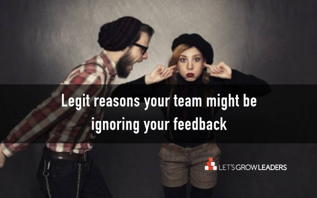 7 reasons your feedback might be ignored